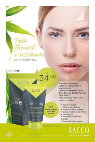 Esfoliante Facial Com Bambu