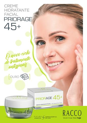 Creme Hidratante Facial Priorage 45+